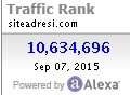 alexa traffic rank kodu2