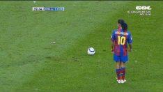 Ronaldinho dan hiç beklenmeyen hareketler