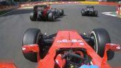 Vettel vs Button vs Alonso vs Magnussen