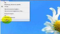 Windows 8 sistem geri yüklemesi oluşturma