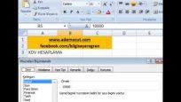 Microsoft Excel KDV Nasıl Hesaplanır