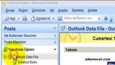 Outlook mail ( backup ) arşivleme nasıl yapılır