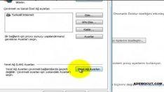 Proxy vekil sunucu ayarı nasıl yapılır