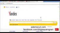 Yandex arama nasıl değişir?