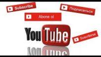 Youtube Abone OL butonu eklemek