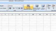 Excel  Mükerrer Değer – Koşullu Biçimlendirme – Yinelenen Değer