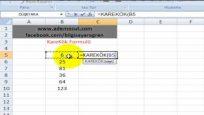 Microsoft Excel Karekök Nasıl Alınır
