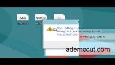 Windows 8 yazı tipi değiştirme