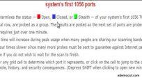 açık port kontrol