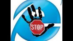 internet explorer içerik yasaklama