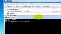 Programsız dosya ( klasör )  şifreleme nasıl yapılır