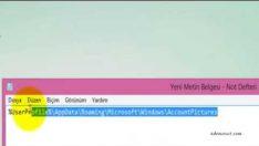 Windows 8 Eski Kullanıcı Hesap Resimlerini Nasıl Silinir