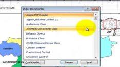 Microsoft Excel Web Browser Nasıl Eklenir