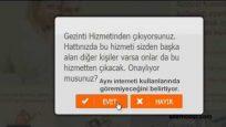 Ttnet Gezinti.com iptal etme