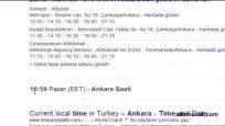 Bölgesel saat dilimlerini öğrenme Google