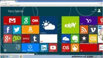 Google Chrome Windows 8 Metro Arayüz Eklentisi