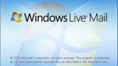 Windows Live Mail Yeni Bir Mail Ekleme