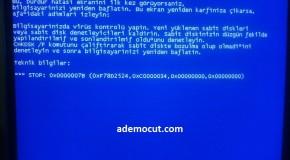 0x00041790 Mavi Ekran Hatası ve Çözümü