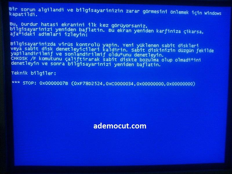 {Çözüldü} mavi ekran 0x00000116 hatası