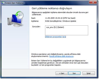 Windows 7 Sistem Geri Yüklemesi Nasıl Yapılır ( Video Anlatım ) – Adem OCUT