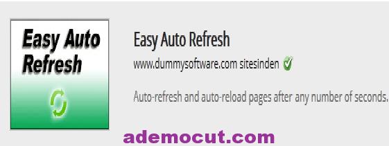 Chrome otomatik sayfa yenileme eklentisi – Chrome Auto Reflesh