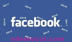 Facebook mesajda Kısa klavye yolları