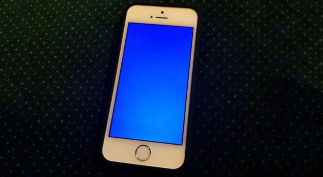 IOS 7 Mavi Ekran Hatası