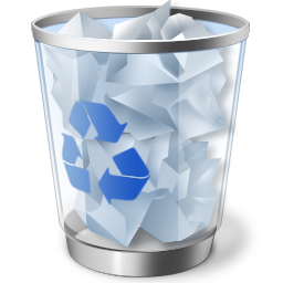 """Çöp Kutusu """"silme onay iletişim kutusu"""" nasıl iptal edilir?"""