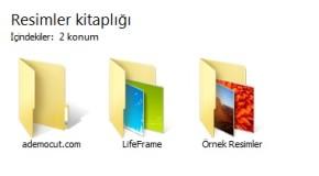 Windows Klasör Görünürlük Şablonu Nasıl Değişir..?