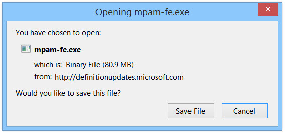 Windows 8 Defender Güncellemesi Manuel Nasıl Yapılır?