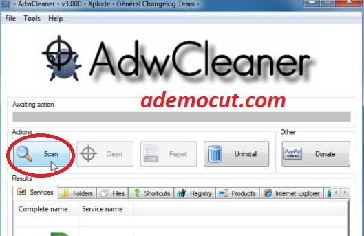 adwcleaner scanner virus