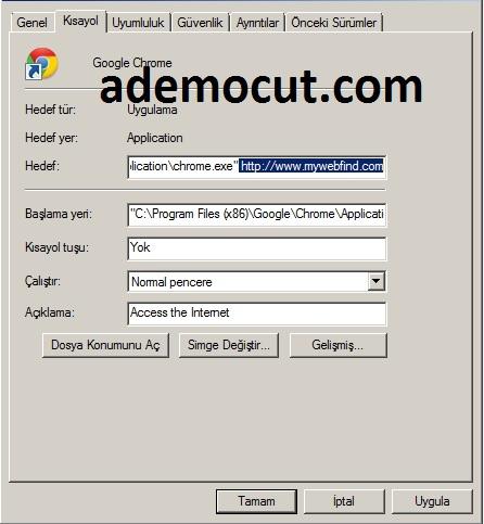mywebfind sayfasını kaldırma
