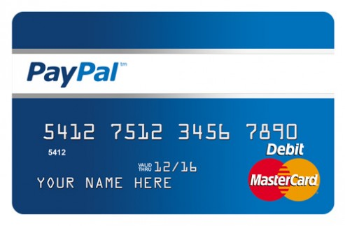 tpaypal debit card