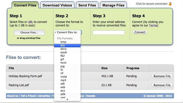 Google Chrome : Ücretsiz Bedava Format Dönüştürücü Eklentisi