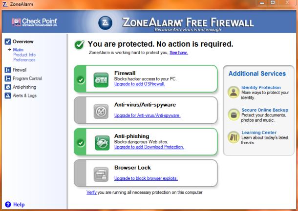 ZoneAlarm ile Bilgisayarınızın Güvenliğini Sağlayın