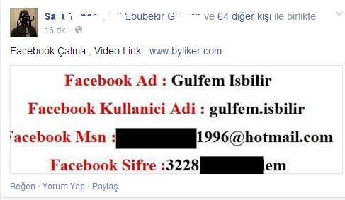 facebook çalma - Facebook Virüsü