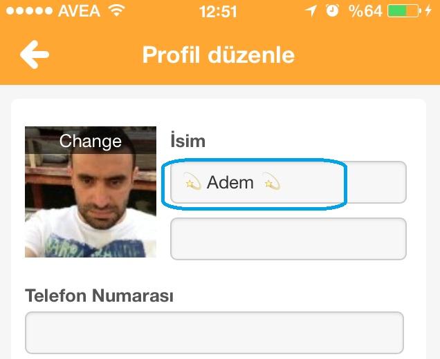 swarm profil ismini değiştirme