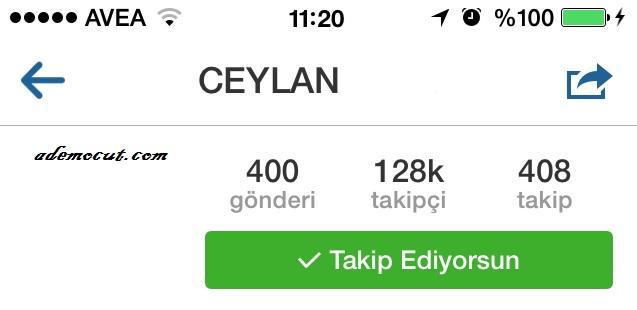 instagram takip bırak