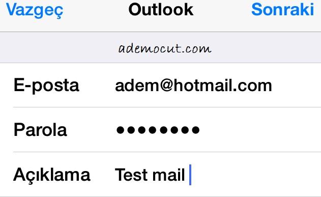 iphone-ipad Yeni mail özelliği ekleme