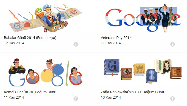 google doodle nedir