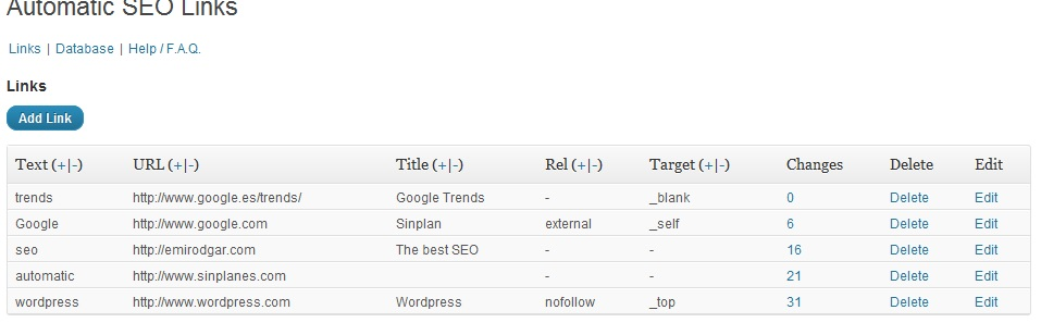 automatic seo links