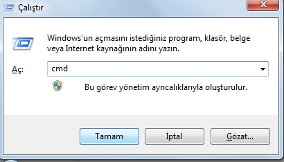 wifi şifre dos komutu ile bulma