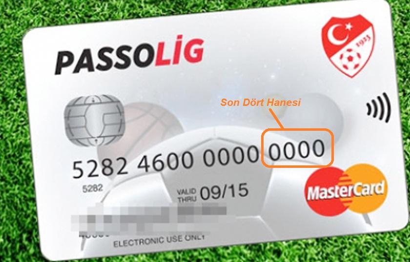 passolig kart şifresi alma