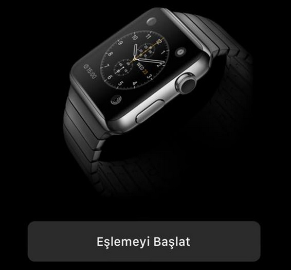 apple watch eşleştirme