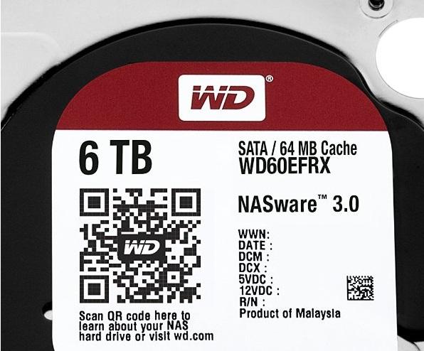 western dijital WD60EFRX