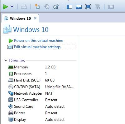 Vmware Workstation1