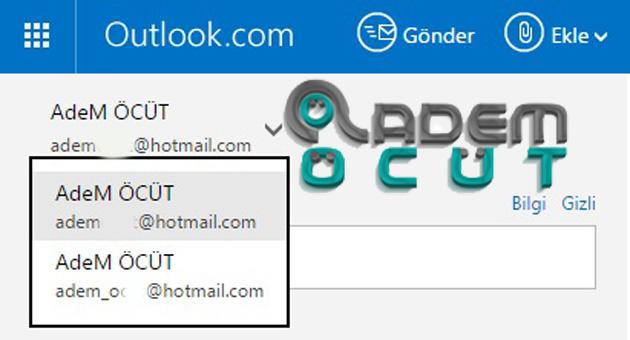 e-posta gönder al