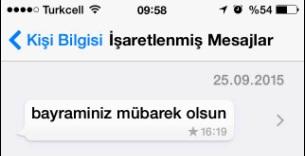 whatsapp yıldızlı mesaj görüntüleme