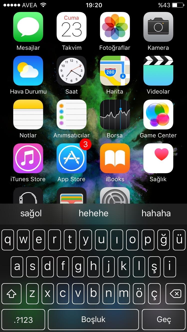 iphone 6 hızlı cevap