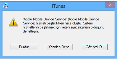 apple sistem hizmeti